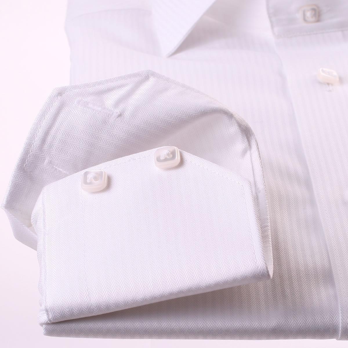 404 not found for White herringbone dress shirt