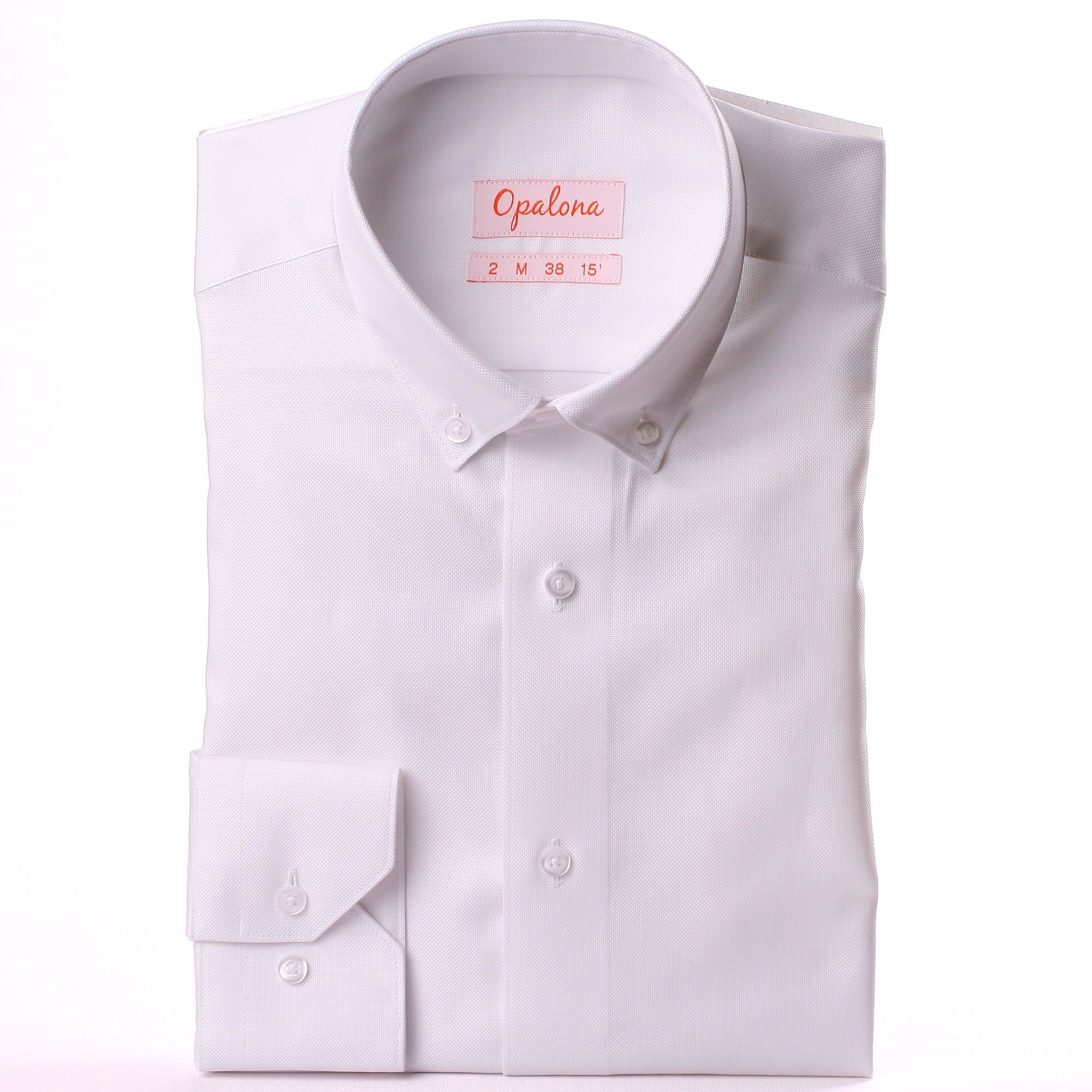 White oxford shirt with a button down collar for White button down collar oxford shirt
