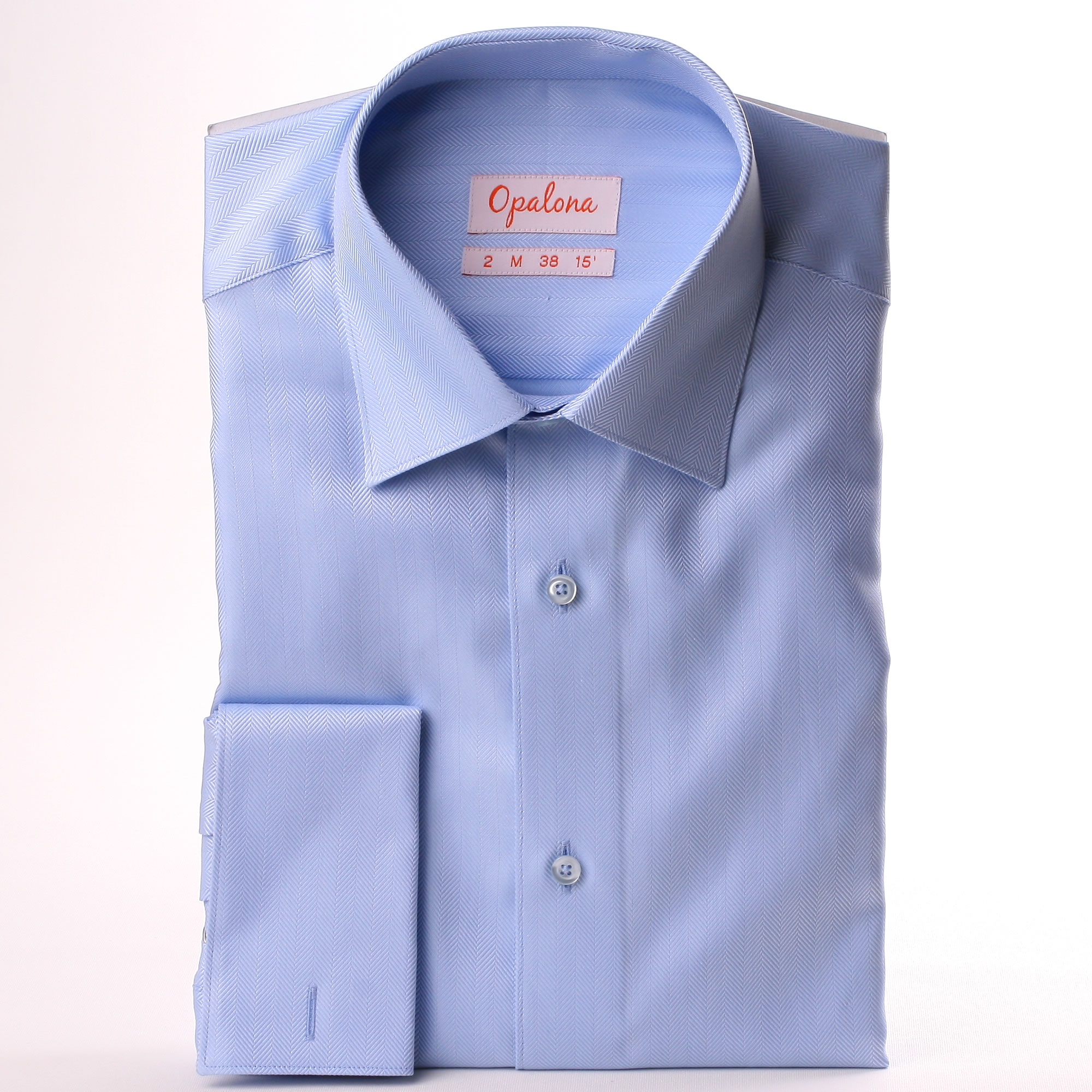 Shirt cuf driverlayer search engine for Light blue french cuff dress shirt