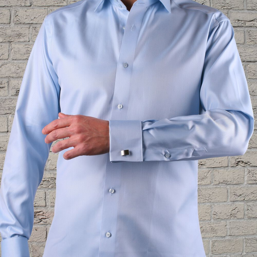 dubbel manschett skjorta
