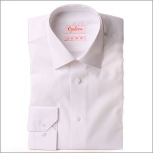 Chemise blanche tissu Pin point