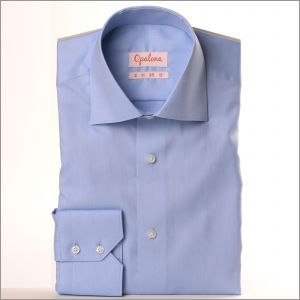 Chemise bleue oxford