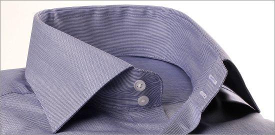 Chemise gabardine bleu foncé