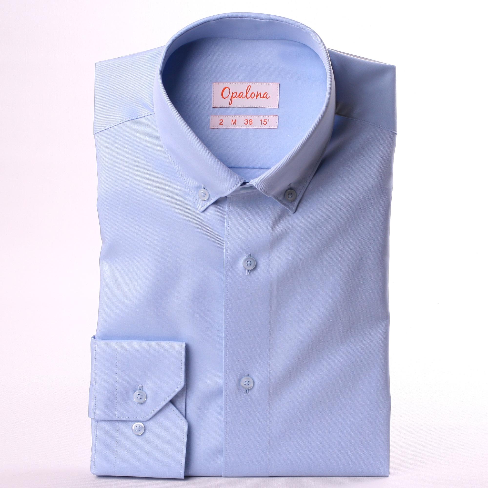 Light Blue Button Down Collar Shirt
